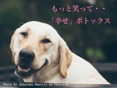 「幸せ」ボトックス