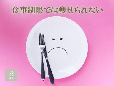 食事制限では痩せられない